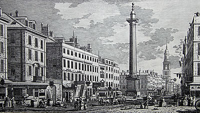The Monument in 1794