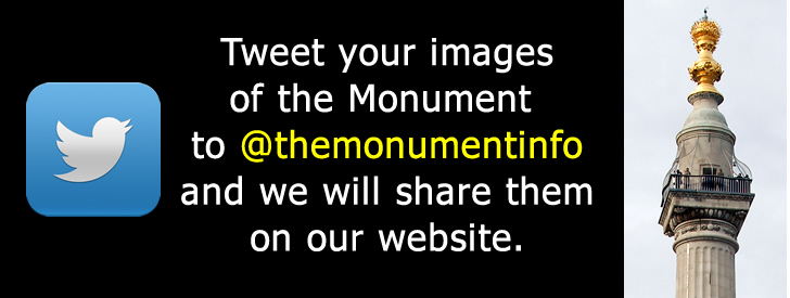 Tweet us your images of the monument in the City of London