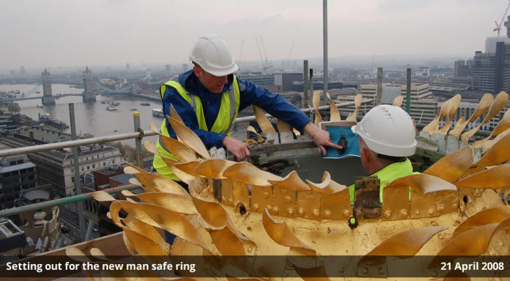 Setting out for the new man safe ring